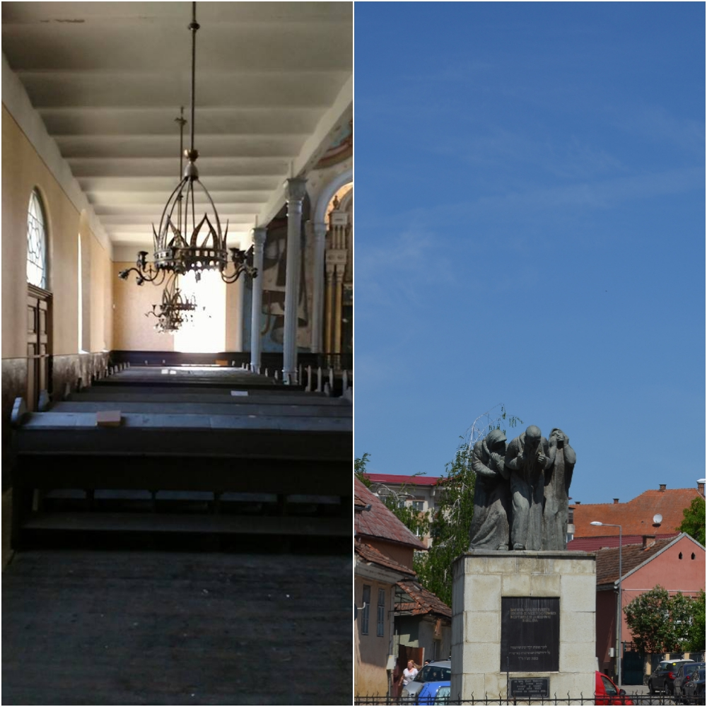 La pas prin județul Cluj Sinagoga din Dej