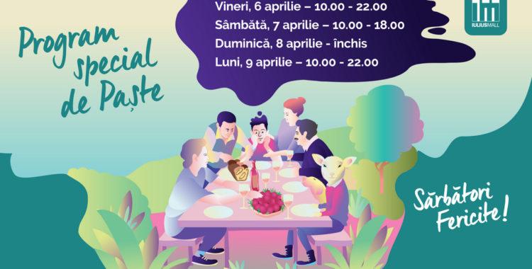 Magazinele și cafenelele Iulius Mall Cluj, deschise în a doua zi de Paște