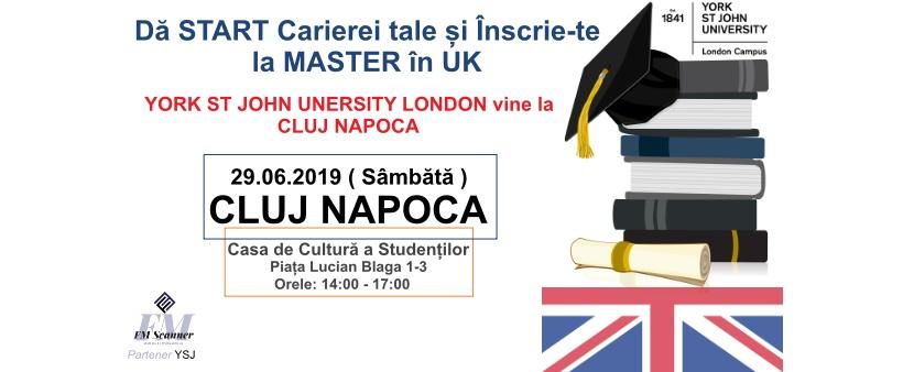 Master în UK