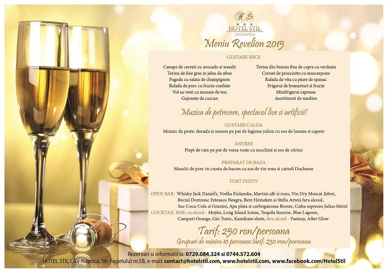 Revelion 2015 la Hotel Stil