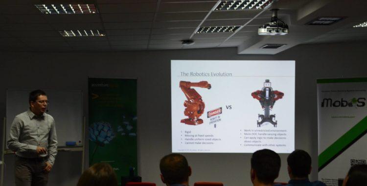 MobOS roboti dezvoltati la cluj