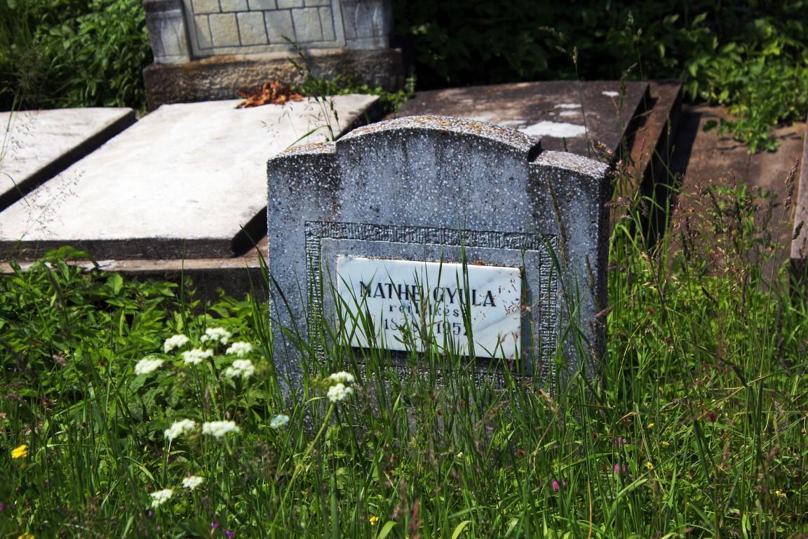Mormant Mathe Gyula Cuzdrioara