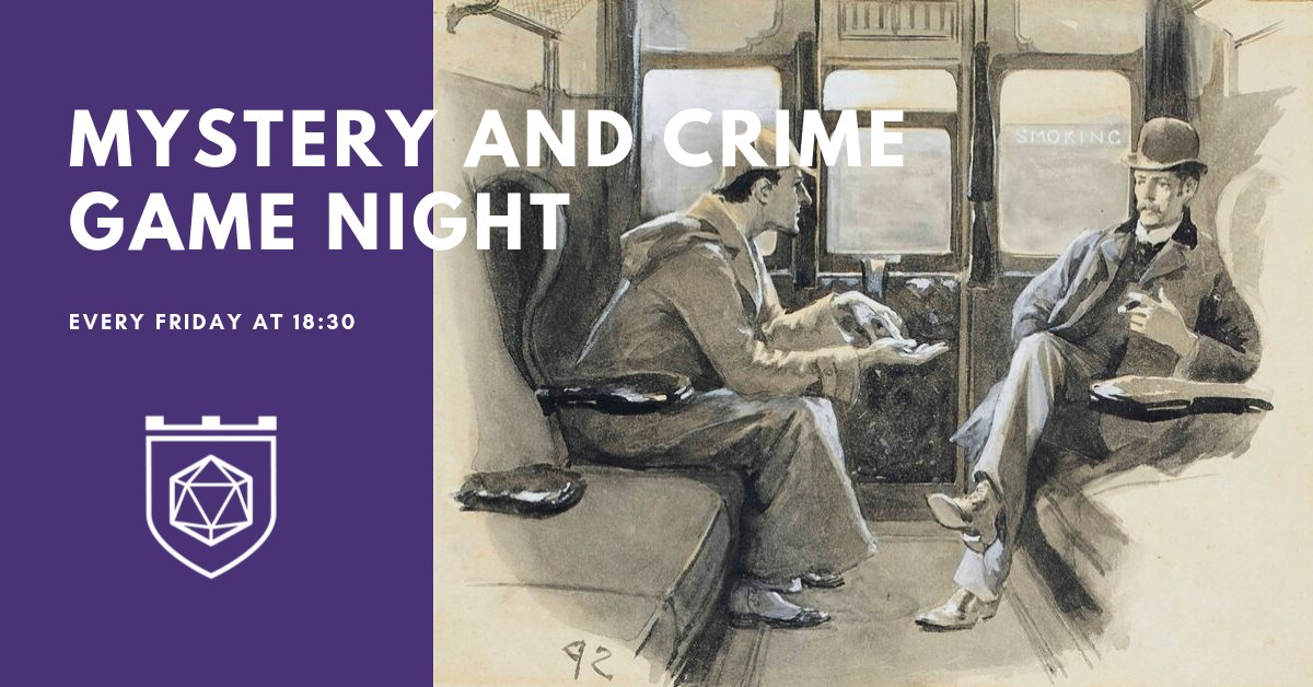 Mystery and Crime Game Night