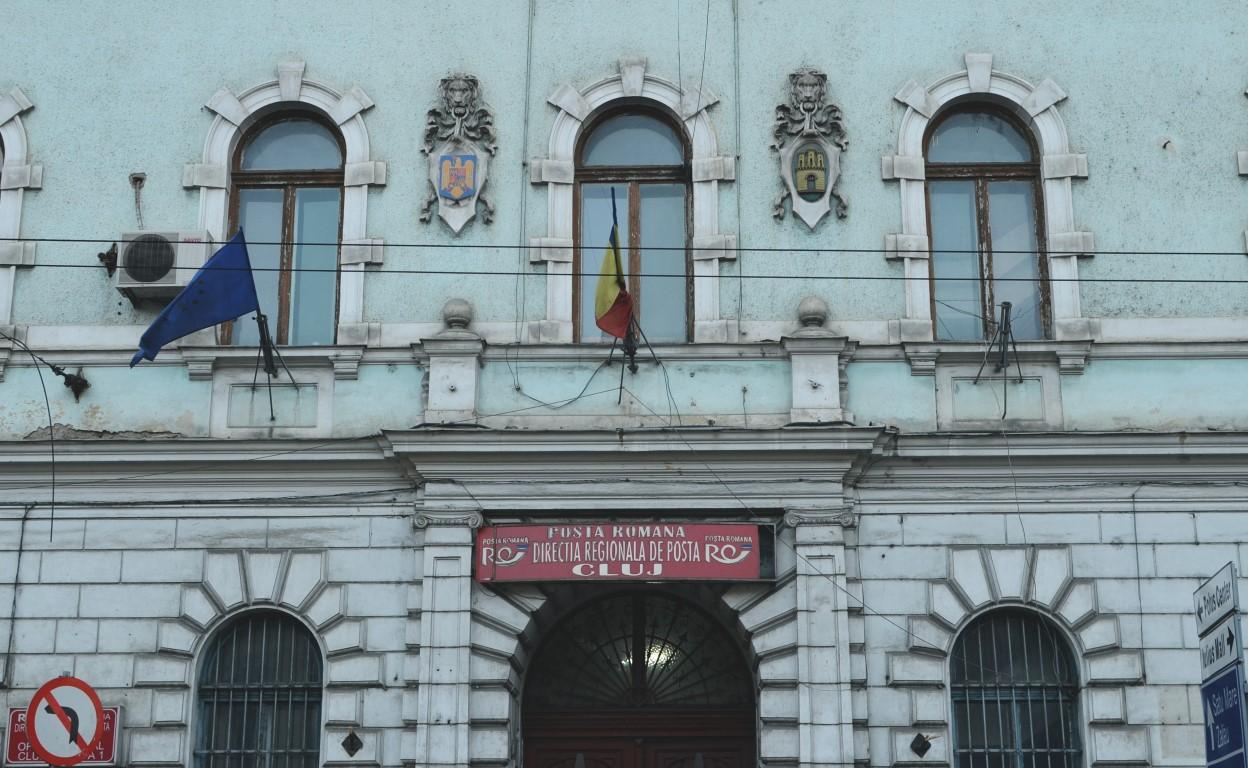Palate în Cluj Palatul Poștei Cluj (1)