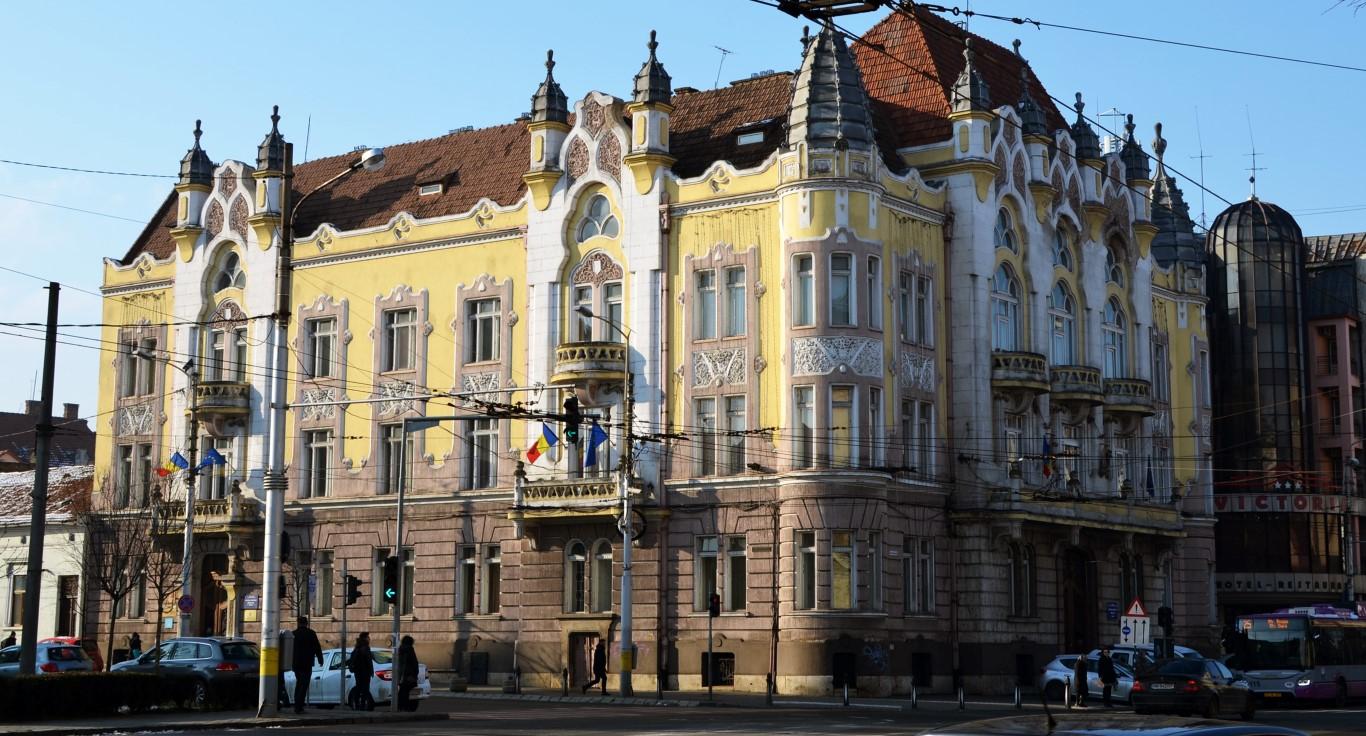 Palate în Cluj Palatul Prefecturii Cluj 2