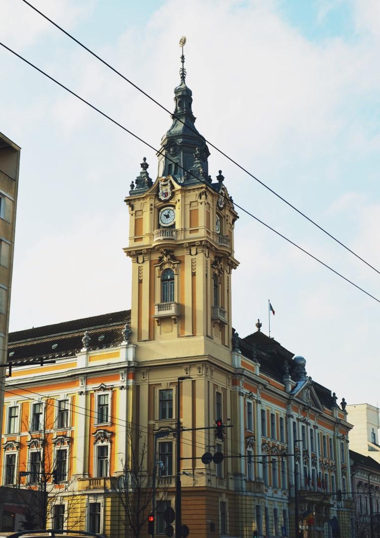 Palate în Cluj Palatul Primăriei Cluj-Napoca 1