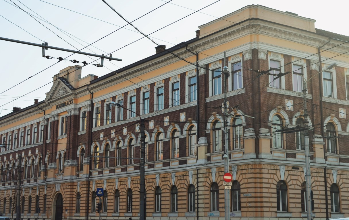Palate în Cluj Palatul Regionalei CFR Cluj