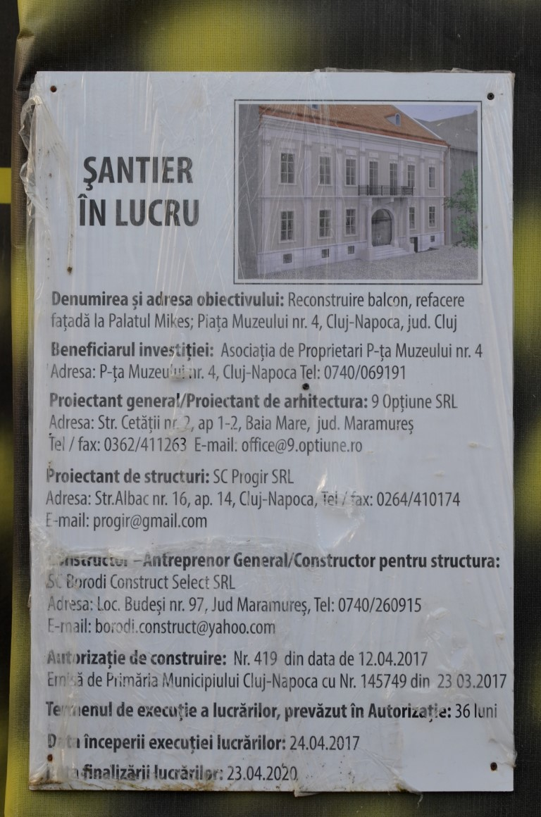 Palatul Mikes (1) Palate in Cluj