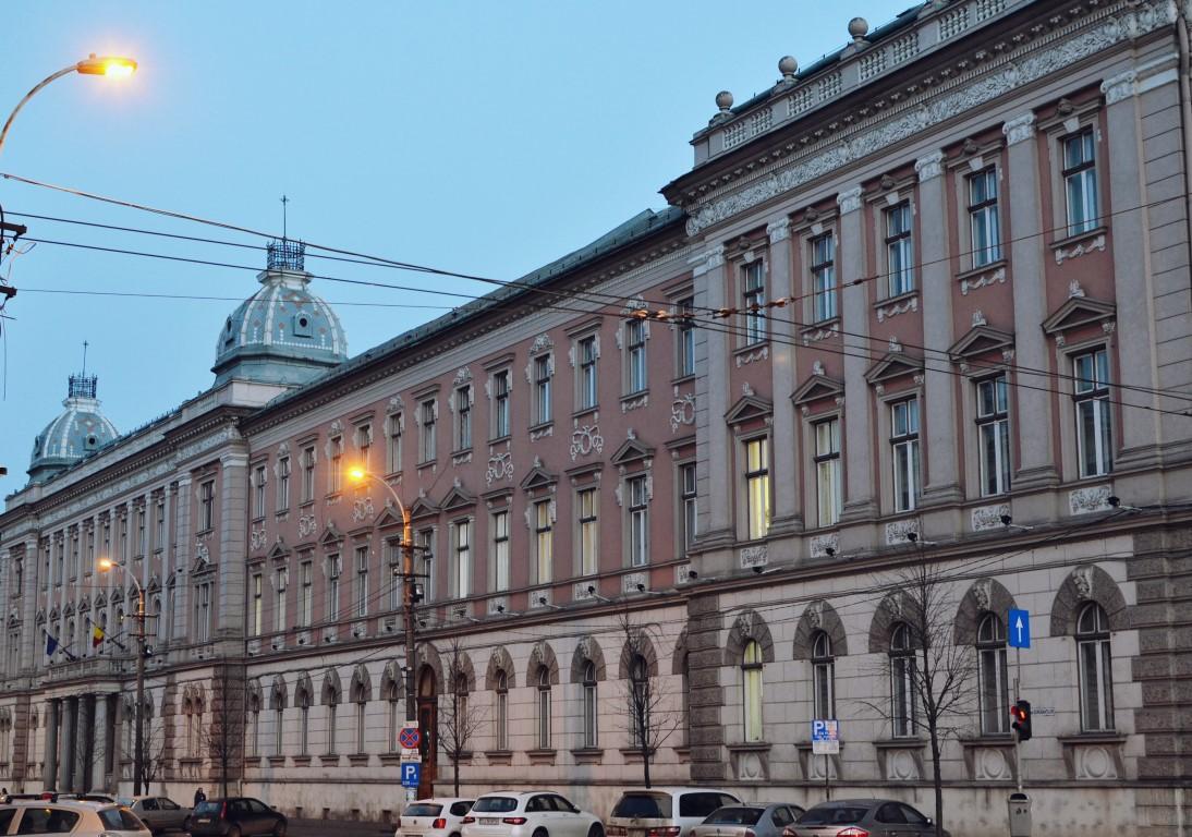 Palatul de Justitie (2) Palate in Cluj