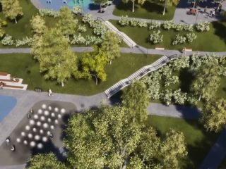 Parcul Observator, un nou parc în cartierul Zorilor
