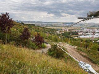 """Parcul """"Pădurea Clujenilor"""" se apropie de finalizare: tiroliană, grădină urbană, facilități sportive și zone de recreere"""