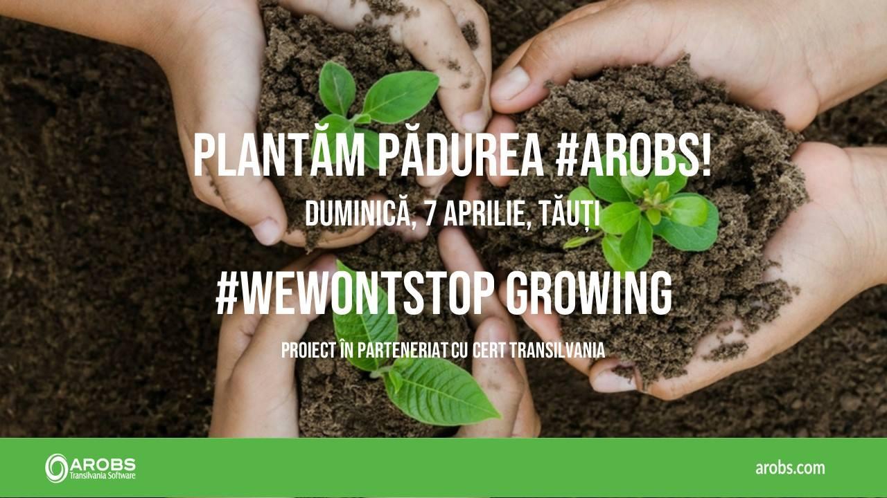 Plantăm pădurea AROBS afiș