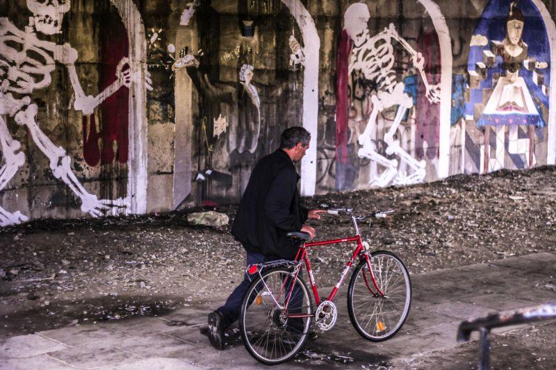 Pop Amalia - Fear - Graffiti si Street Art in Cluj