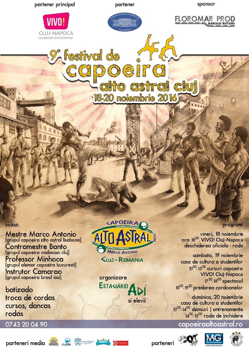 Festivalul de Capoeira Alto Astral Cluj 2016 | Cluj.com