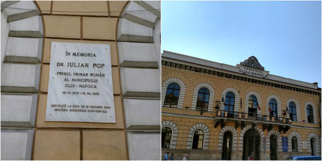 Primăria veche Piața Unirii Clădirile Clujului