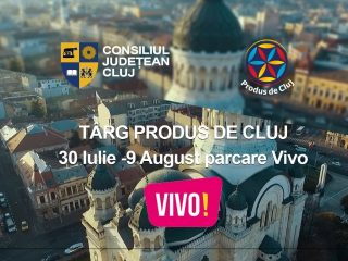 O nouă ediție a Târgului Produs de Cluj la VIVO! Cluj-Napoca