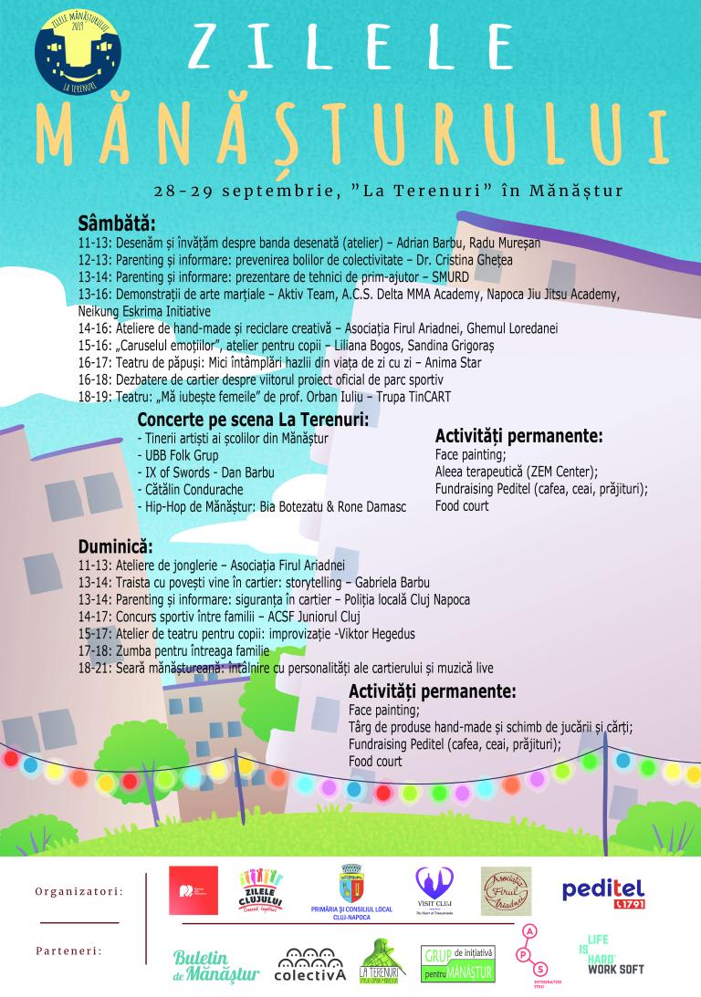 Program Zilele Manasturului 2019