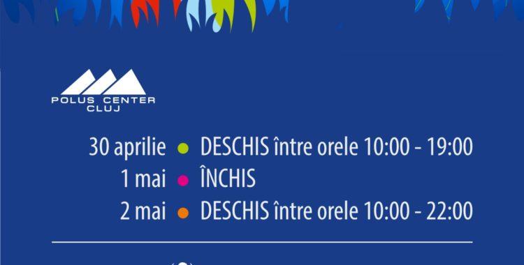 Program special de sărbători la Polus Center