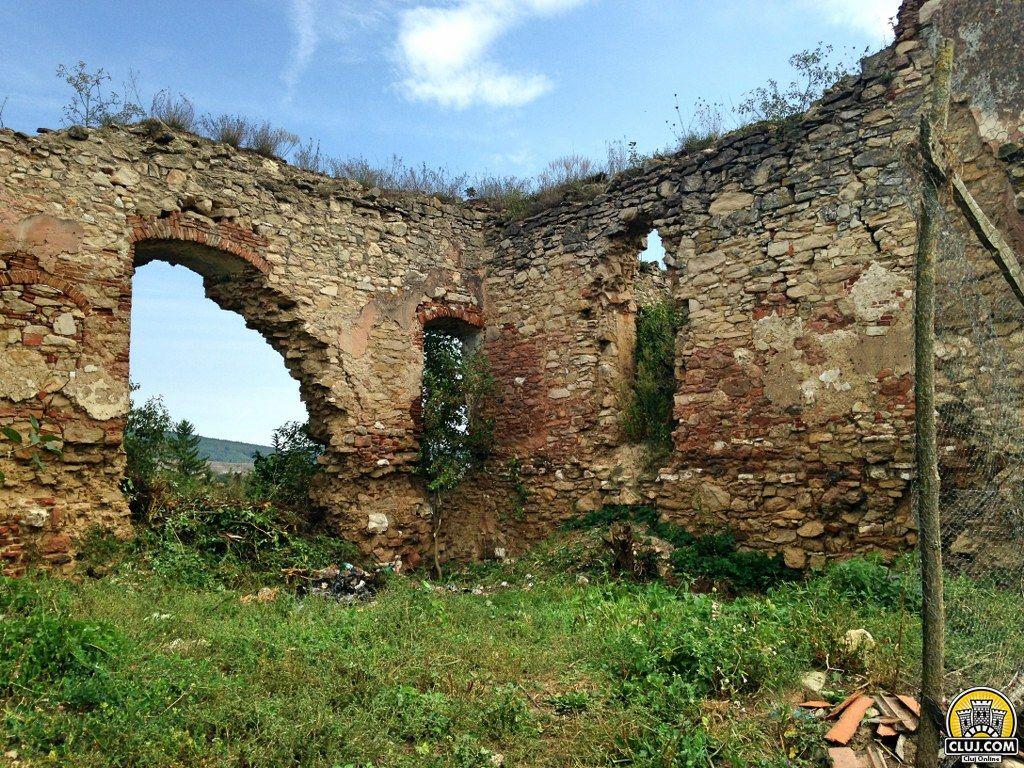 Ruinele Castelului Bocskai, comuna Aghireșu, județ Cluj CVA