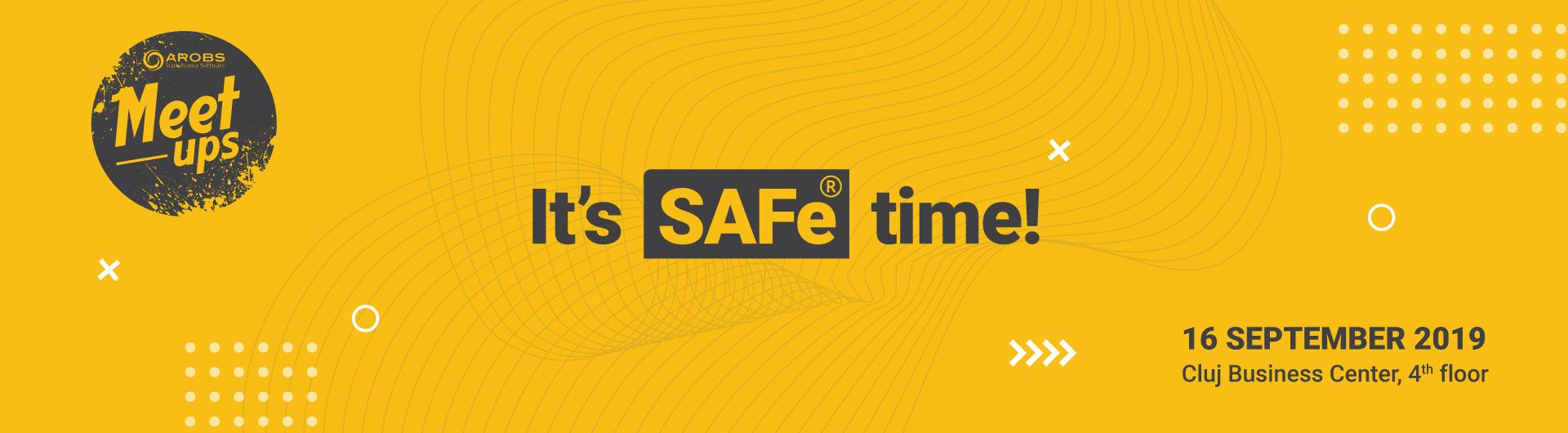 AROBS Meetups: Itʹs SAFe time, with Neru Obhrai, international coach & trainer