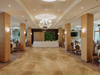 Sala de evenimente de la Hotel Briliant: locuri în care se clădesc amintiri