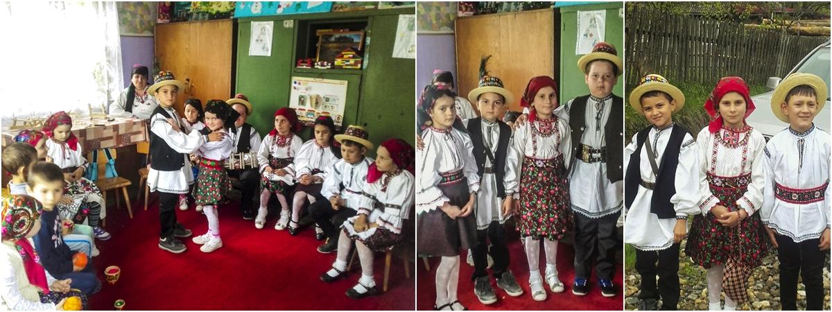 Satul Huta copii