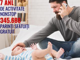 Peste 300.000 de copii au fost ajutați de serviciul gratuit PEDITEL. Donațiile din luna iulie vor fi dublate de BT!
