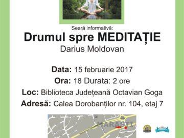 Sesiunea Informativă ADAM Cluj - Meditația - 15.02.2017