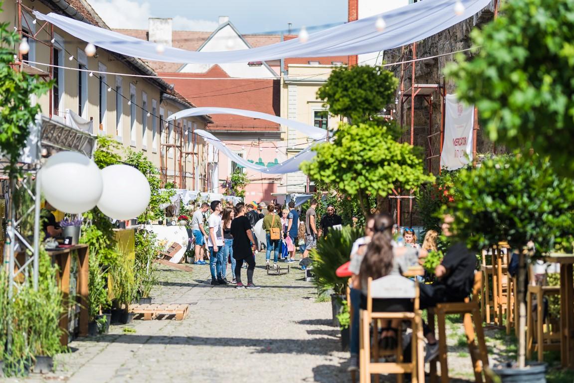 Strada Potaissa Piața de flori altfel