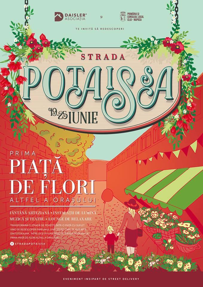 Strada Potaissa va deveni prima piață de flori altfel (1)