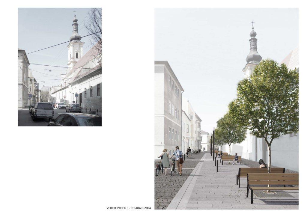 Strada Tipoagrafiei, Regele Ferdinand, Sextil Pușcariu și Emile Zola