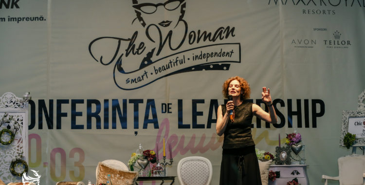 Conferinta de leadership feminin The Woman
