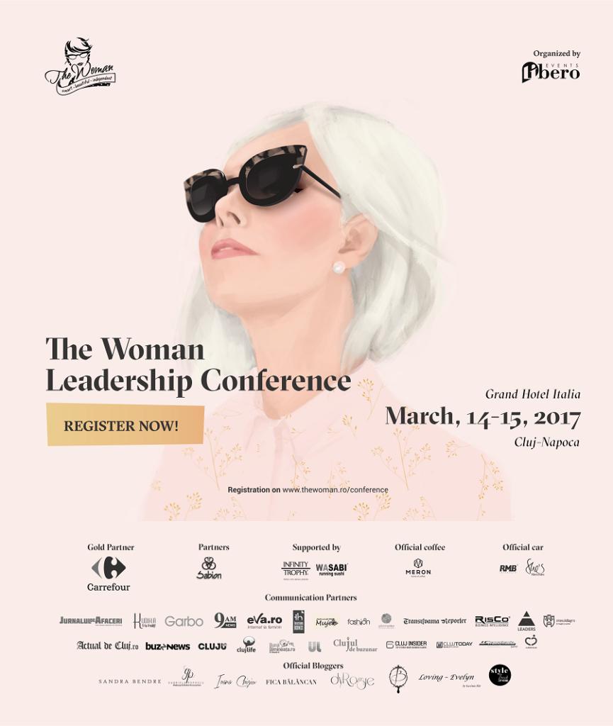 Conferința The Woman Cluj 2017 | Evenimente în Cluj | Cluj.com