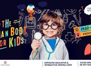 Expoziție pentru copii la Iulius Mall | The human body