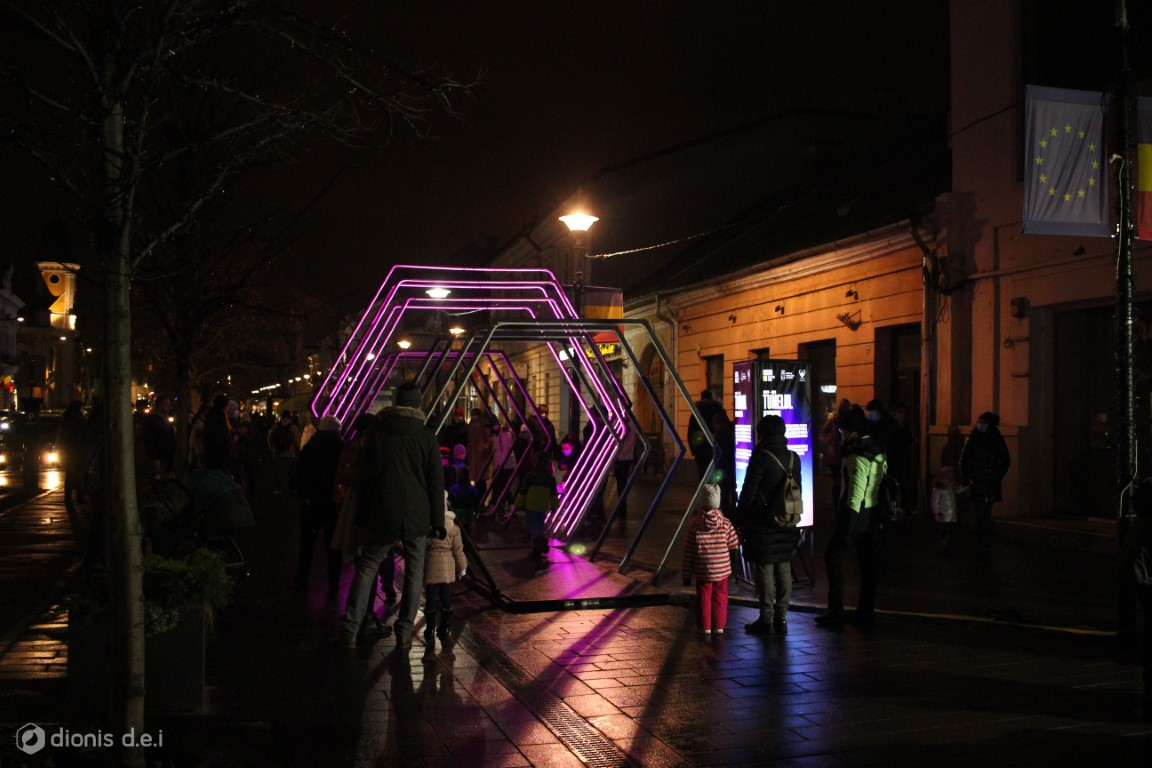 Tunelul Lights On Romania 2020