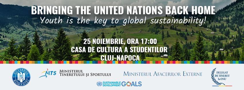 Bringing the United Nations back home! | 25 noiembrie 2016, Cluj-Napoca