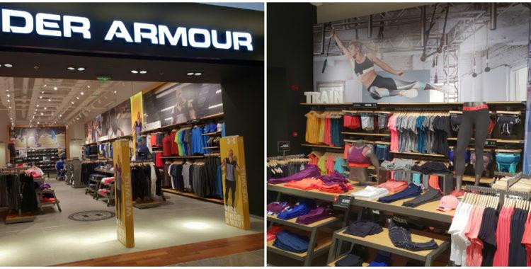 Under Armour la Cluj, în Iulius Mall