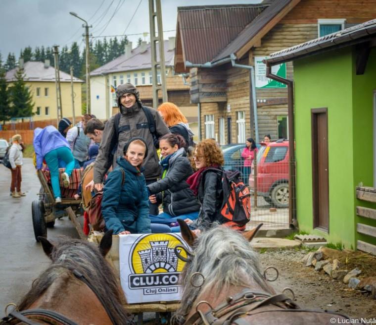Voluntari excursie sate Cluj.com