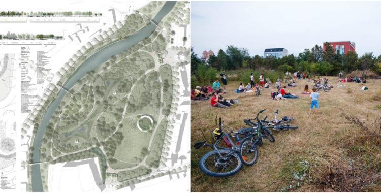 """Vom avea o ,,Grădină a Someșului"""" în Cluj sau cum va arăta Parcul Feroviarilor"""