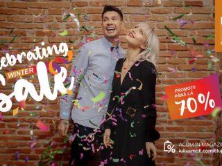 Celebrating Winter Sale! Descoperă reducerile de până la 70% în magazinele din Iulius Mall Cluj