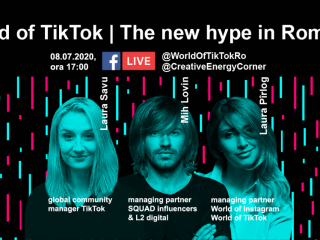 World of TikTok, primul eveniment educativ dedicat 100% TikTok-ului