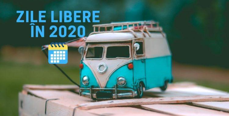 Zile libere în 2020