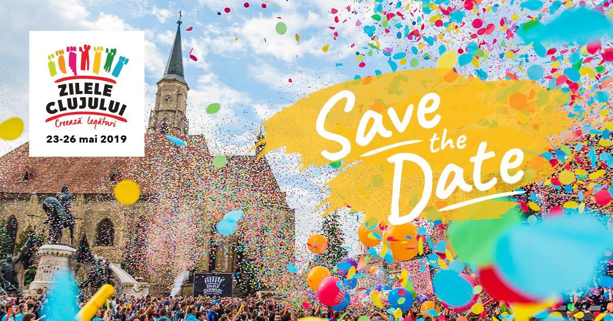 Zilele Clujului în 2019 afiș