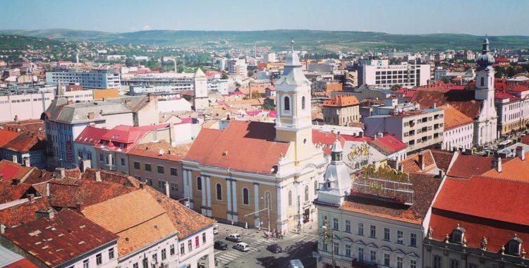 Zona centrală a Clujului
