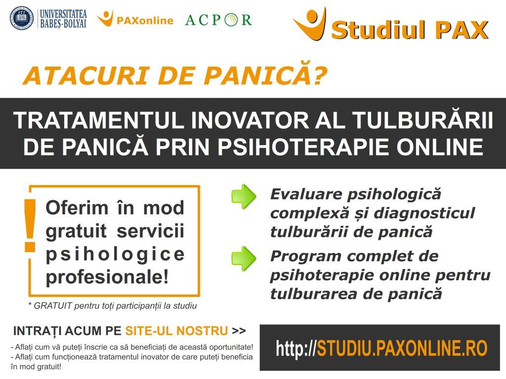 studiu paxonline tratament