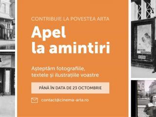 Apel la amintiri: contribuie la povestea Cinema ARTA Cluj!