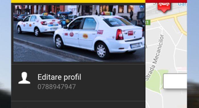aplicația Daniel Taxi Cluj