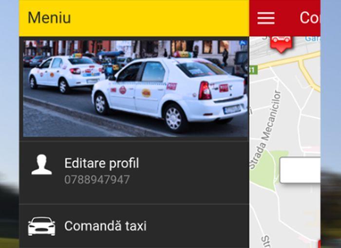 Alege-ți singur taxiul cu aplicația Daniel Taxi Cluj