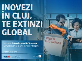 AROBS, partener al BCR INNOVX Accelerator în Transilvania | Înscrieri pentru grupul de startup