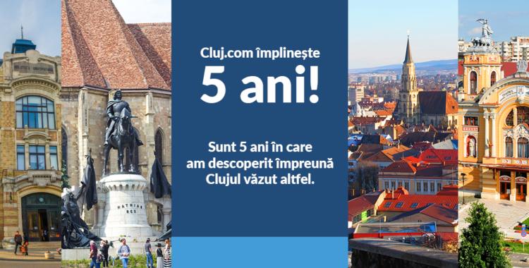articol 5 ani Clujul văzut altfel